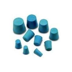 Bouchon caoutchouc gris-bleu