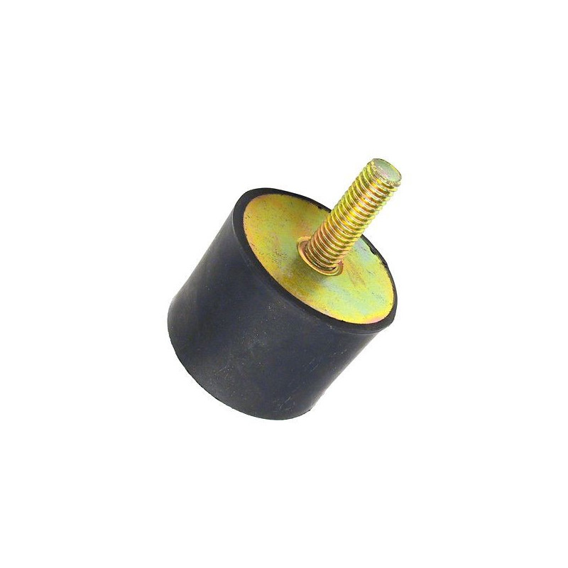 Support ou amortisseur cylindrique fixation 1 tige