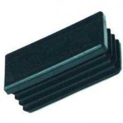 Embouts rectangulaires plastiques noirs