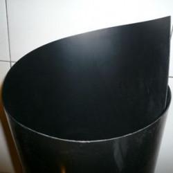 Feuille PEHD 300 noir