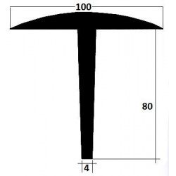 Profil joint bascule