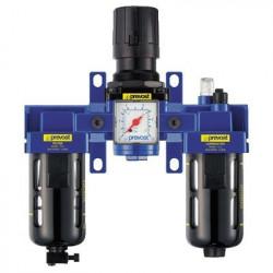 Filtre régulateur lubrificateur 3 blocs G 1/2