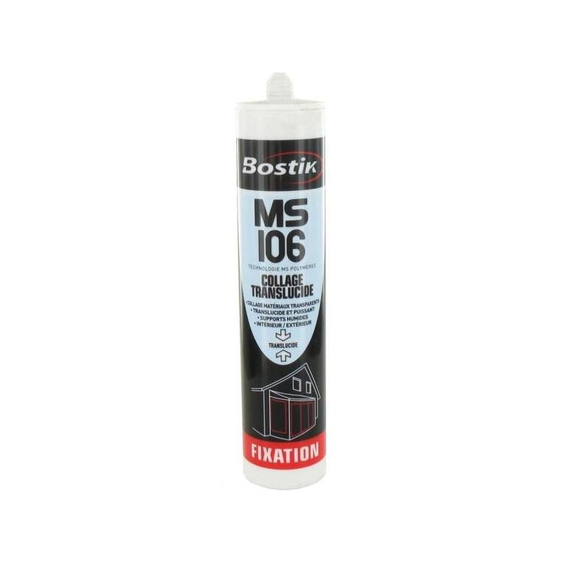 Bostik Pro MS 106 polymère translucide