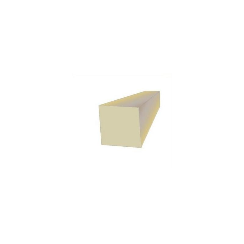 Corde profil carré caoutchouc naturel