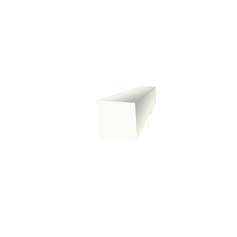 Corde profil carré en silicone