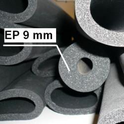 Manchons de mousse isolante épaisseur 9 mm