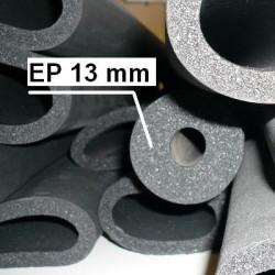 Manchons de mousse isolante épaisseur 13 mm