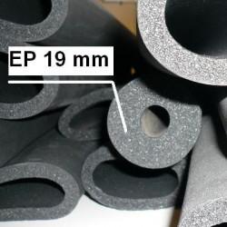 Manchons de mousse isolante épaisseur 19 mm