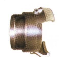 Embout 1/2 sym. filetée mâle sans verrou aluminium