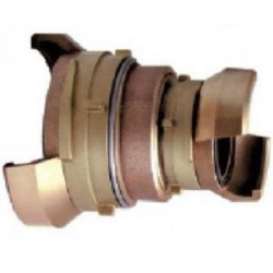 Réduction 1/2 sym. avec verrou, bronze