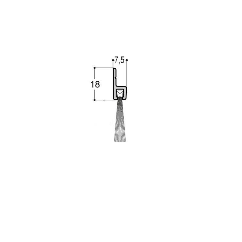 Plinthe-brosse verticale A1