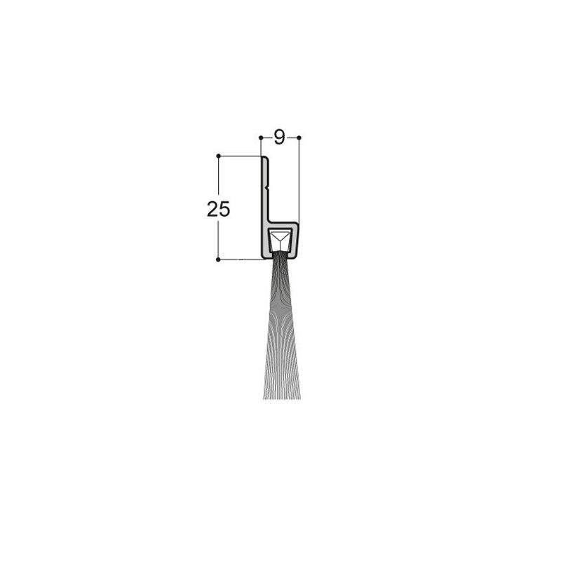 Plinthe-brosse verticale A2