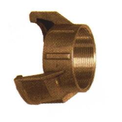 Embout 1/2 sym. filetée femelle sans verrou bronze