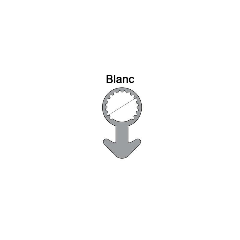 Joint tubulaire queue d'ancre NM blanc