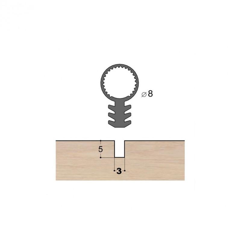 Joint à tube mono-matière T08 R3