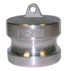 Bouchon adaptateur mâle aluminium