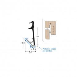 Joint isophonique multichambre F15 R3 PR