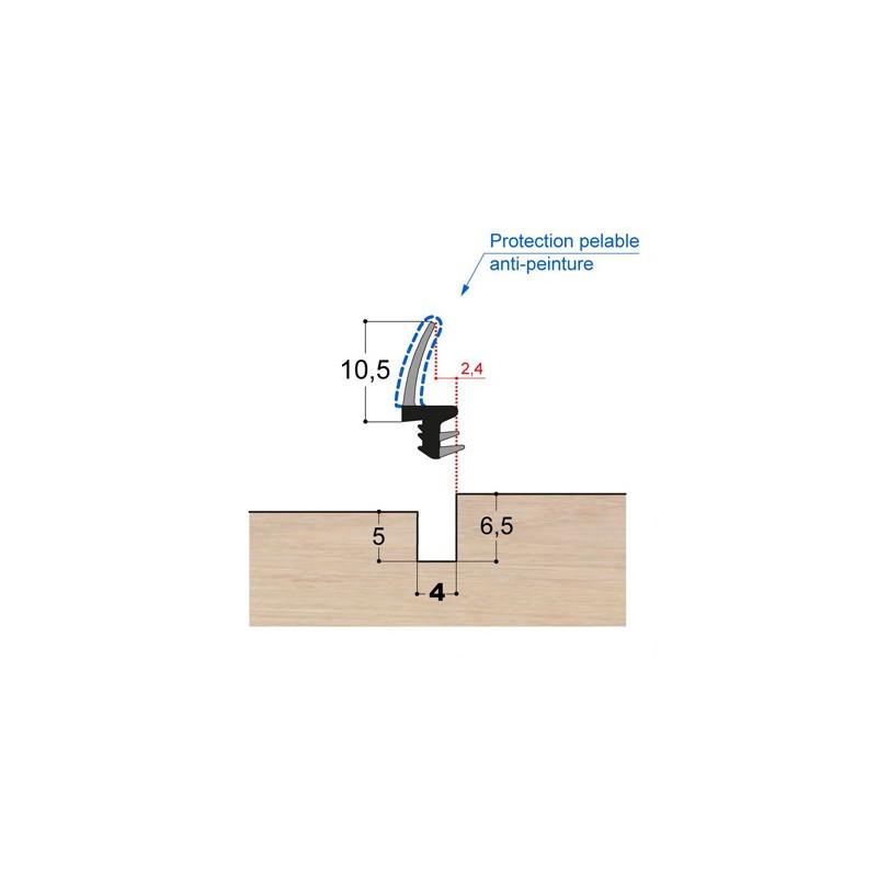 Joint à lèvre PVC bi-dureté LP3 PR DD