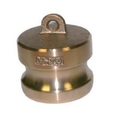 Bouchon adaptateur mâle bronze