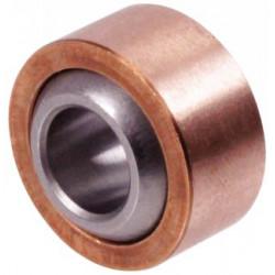 Rotule radiale acier/bronze C1-12 sans étanchéité avec entretien