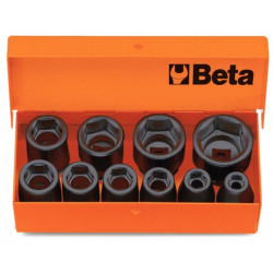Coffret BETA T22-710/C10 composé de 10 douilles 6 pans