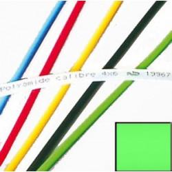 Tube Polyamide 12 calibré vert, bobine de 25 m