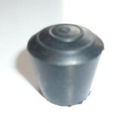 Embouts emboitant caoutchouc ronds pour tube métal 100PCS