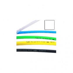 Tube polyuréthane calibré transparent, bobine de 25 m