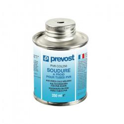 PVR COL Pot de soudure à froid et pinceau pour tube
