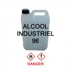 Alcool industriel 96° en bidon de 5 L