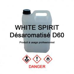 White-spirit D60 en bidon de 5 L