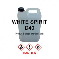 White-spirit D40 en bidon de 5 L