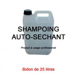 Shampoing auto séchant bidon 25 litres