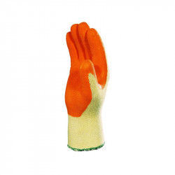 Paire gants en COTON et POLYESTER enduction latex
