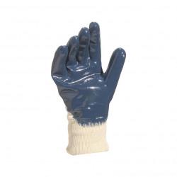 Paire gants en NITRILE sur support jersey coton