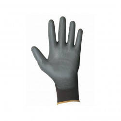 Paire gants en TRICOT POLYAMIDE enduction PU