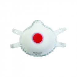 5 Masques FFP3 avec valve d'expiration contre l'amiante