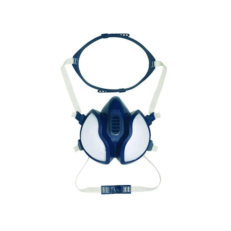 Demi-masque anti-poussières / anti-gaz