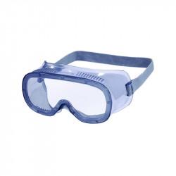 Lunettes masque polycarbonate bleu clair