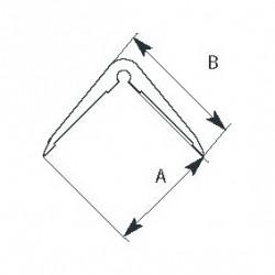Protection angle de mur à coller longueur 2m