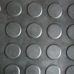 Tapis pastilles noir épaisseur 3 mm