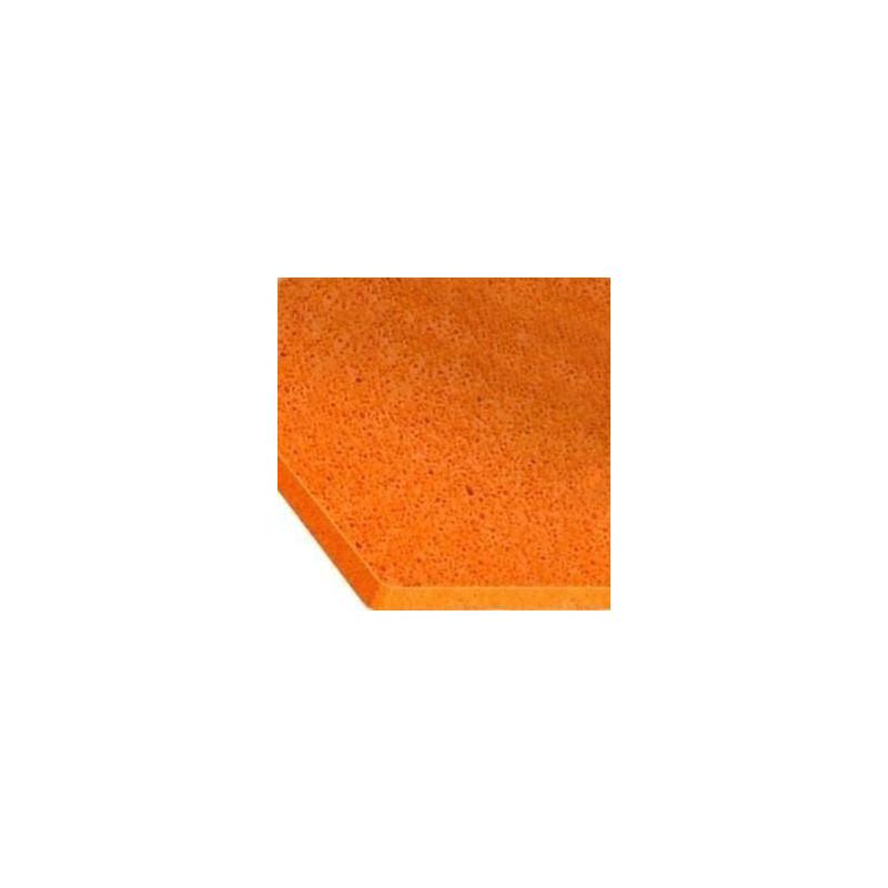 Plaque éponge orange grosse cellules