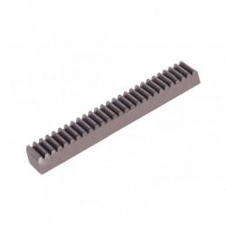 Crémaillère acier m 0,5 à 8 mm denture droite fraisée