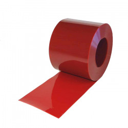 Lanière rouge PVC APPLICATION SOUDURE