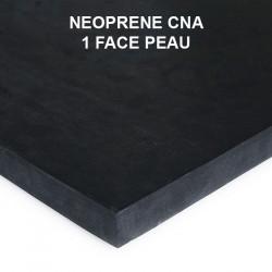 Plaque caoutchouc cellulaire étanche néoprène CNA 1 face peau