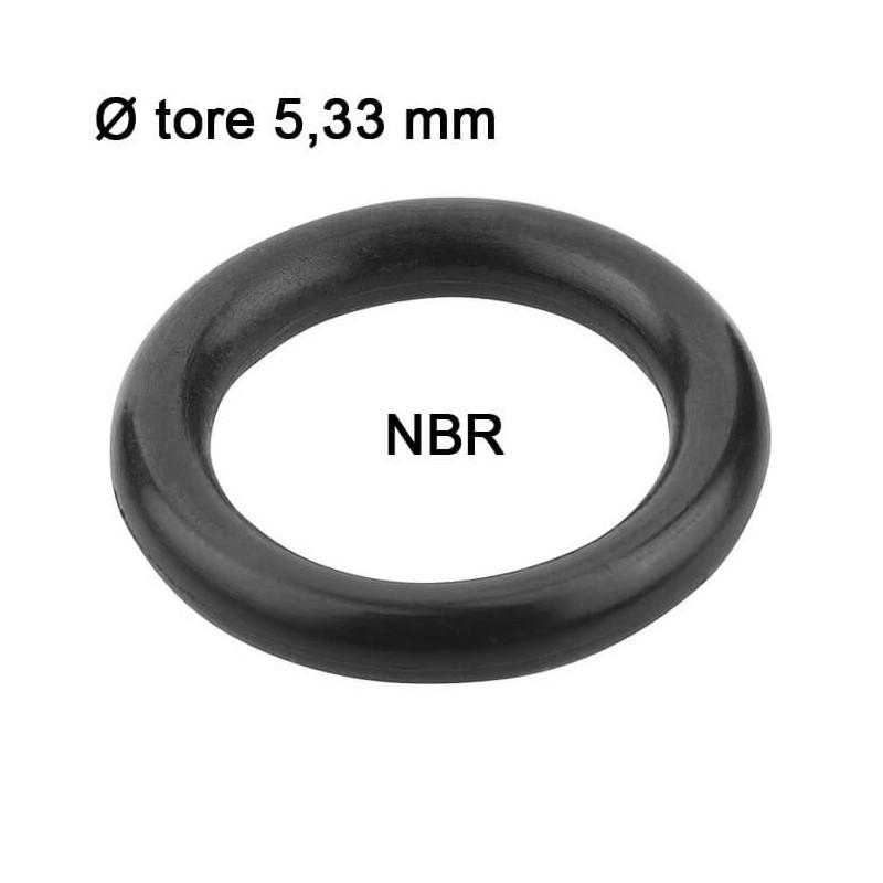 Joints toriques nitrile Ø tore 5,33 mm