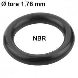 Joints toriques nitrile Ø tore 1,78 mm Sachet 500 joints