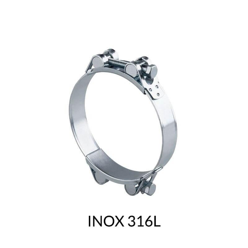 Collier à tourillon INOX 316L