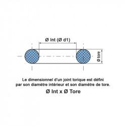 Joints toriques EPDM 703901 FDA Ø tore 1,78 mm Sachet 10 joints