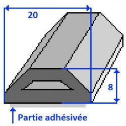 Profils adhésivé AC20